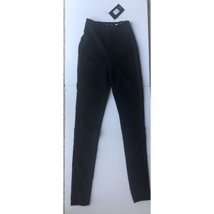 NWT Fashion Nova super high waist denim skinnies